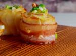 Köretként és főételként is megállja a helyét: Baconos-újhagymás krumpli