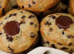 Csokival töltött banános muffin – ha gyorsan összedobnál valami édeset