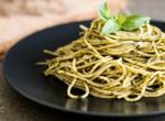 Bazsalikomos pestós spagetti – a leggyorsabb ebéd, amit valaha főztél