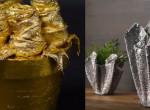 Zseniális: Ilyen pazar díszeket lehet készíteni lyukas zoknikból - Fotók