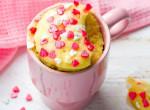 Pofonegyszerű, villámgyors és nagyon olcsó: 5 perces vaníliás bögrés sütemény