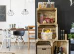 Hangulatos bútorok olcsón: Így használd fel a felesleges borosrekeszeket