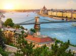 Budapesten dupla szivárvány vert tündöklő hidat a Duna két partja közé - Videó