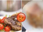 Átverte a fotó: Undorító vacsorát kapott a nagymama az idősek otthonában