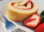 Igazi desszert álom - Epres piskótatekercs