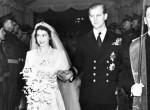Ilyen volt Erzsébet királynő és Fülöp herceg lenyűgöző esküvői tortája, a 230 kilós mestermű