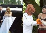 A valaha készült legcikibb esküvői fotók, amikre nincs mentség