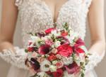 Pár hónap után újraházasodott a szupermodell: Furcsa ruhában mondott igent