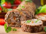 Töltött fasírtrolád - a legjobb, amivel a hetet kezdheted