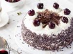 A hónap desszertje: Feketeerdő torta házilag