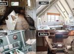 Romhalmazból luxus - Gyönyörűen felújított lakások előtte és utána