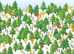 Képrejtvény: te kiszúrod a csúcsdíszes karácsonyfát a fenyők között?