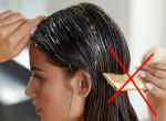 Szörnyű vége lesz: Ezért ne fésülködj egyből hajmosás után