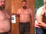 Kockahasú félisten lett a 39 éves pocakos apából - Fotókon a változás