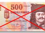 Ilyen lesz az új ötszáz forintos bankjegy - Fotók