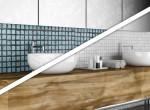 Elképesztő előtte-utána fotók: Így úszd meg olcsón a fürdőszoba felújítását