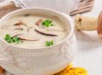 Tejszínes, fehérboros gombaleves – Egy étel, amiből tuti repetázni fogsz!