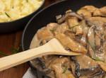 Pasifogó vacsora: Sertéskaraj gombás mártással