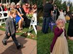 Gyerekek, akik durván széttrollkodták az esküvőt - Fotók