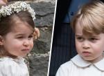 Idilli kép - Így ficánkolt a fotózáson György herceg és húga, Charlotte