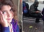 Hajléktalannak adta az ebédjét a kislány, majd váratlan dolog történt