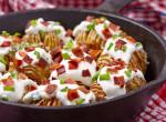 Istenien ropogós Hasselback krumpli– A filléres, mégis látványos köret baconnel