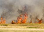 Tűzvész a Hortobágyi Nemzeti Parkban