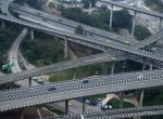 Félelmetes! Te be mernél hajtani ebbe a kínai közlekedési csomópontba?