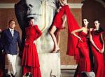 A vörös 50 árnyalata: csábító kollekciók a legnagyobb tervezőktől