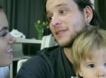 Megható, mit tett Istenes Bence a várandós Csobot Adélért - Videó