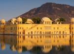 Ezért került víz alá: az elsüllyedt indiai Jal Mahal palota története