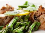 Minden ízében ünnepi főétel: Sült kacsamell zöldbabsalátával