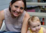 Kislányát fotózta az anyuka: Rémisztő dolgot vett észre a képen