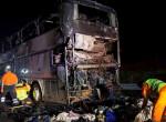 Újabb turistabusz lángolt az M7-esen