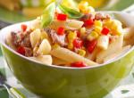 Gyors, olcsó, egyszerű és nagyon finom: 20 perces chilis-kukoricás tészta