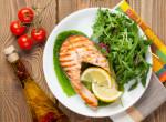 Könnyed hétindító – sült lazacfilé rukkola salátával