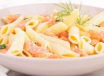 Egy igazi olaszos tészta: Krémes, tejszínes-lazacos penne