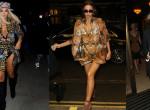 Falatnyi ruhákban pózoltak a világsztárok a London Fashion Weeken - Fotók