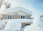 Megáll az ész: Így temet be egy családi házat 24 óra alatt a hóvihar - Videó