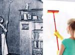 Így változtak a takarítási szokások az őskortól napjainkig