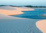 Elképesztő: Annyi a víz a sivatagban, hogy még fürdeni is lehet benne!