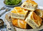 Leves mellé vagy főételnek is kiváló: Leveles tésztában sült gombás hús