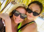 Liptai Claudia gyönyörű lakatlan szigeten pihent családjával - Fotók