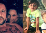 Egyetlen szóval hódította el apja rajongóit Majka kisebbik fia - Videó
