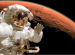 Itt az első szelfi, amit a Marson készített a NASA űrszondája - Fotó!