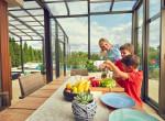 Így lehet a télikerted a ház lelke - Ezentúl az egész család itt szeretne időt tölteni