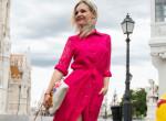Ragyog Marton Adri, magyar tervezők ruháiban tündököl - fotók