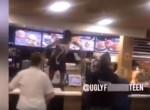 Ámokfutó vendég tombolt a McDonald'sban - Videó
