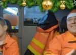 Ez aztán a meglepetés! Itt a mentősök karácsonyi videója