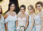 Koszorúslányai átverésével akarta kifizetni ruháját a menyasszony